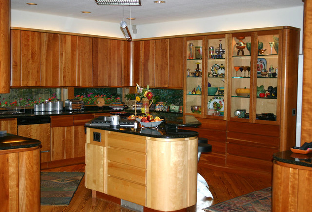 Curvey earthy modern kitchen other by for Earthy kitchen designs