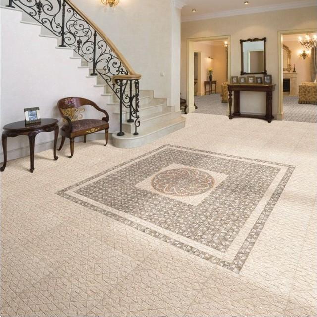 Agadir Moroccan Floor Tiles 2159 Per Set Of 4 Mediterranean