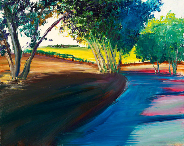 """Bring home the Russian River Valley with """"Meeting Place"""" by Rea, oil painting"""