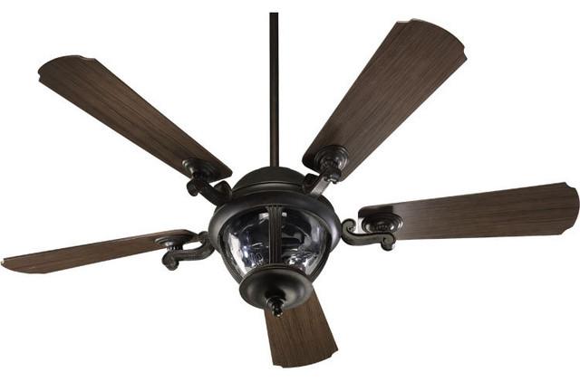 """Quorum International 142525 Westbrook Patio 52"""" Outdoor Fan."""