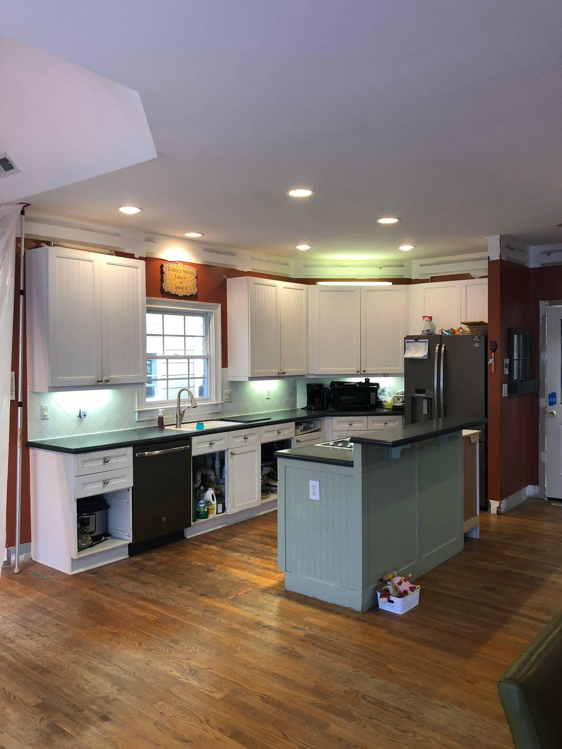 Peachtree City Farmhouse Kitchen Remodel