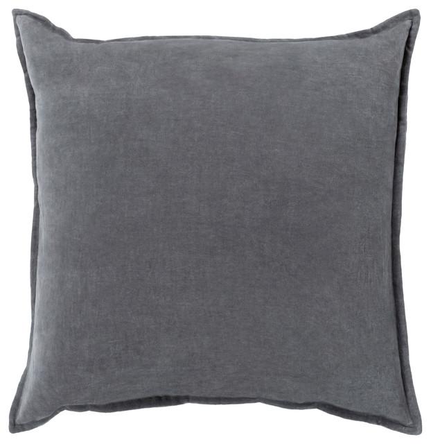 Cotton Velvet Decorative Pillows : Cotton Velvet Pillow Cover 13x19x0.25 - Contemporary - Decorative Pillows - by Surya