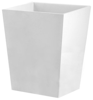 Tatara group elegant wastebasket 6qt view in your room houzz - Modern wastebasket ...