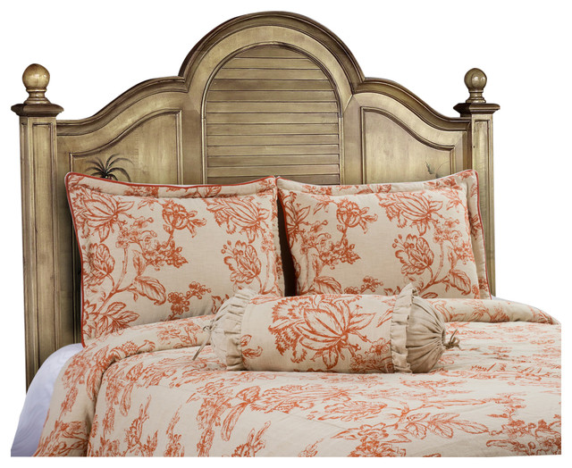 French Country Duvet Cover Set E Queen