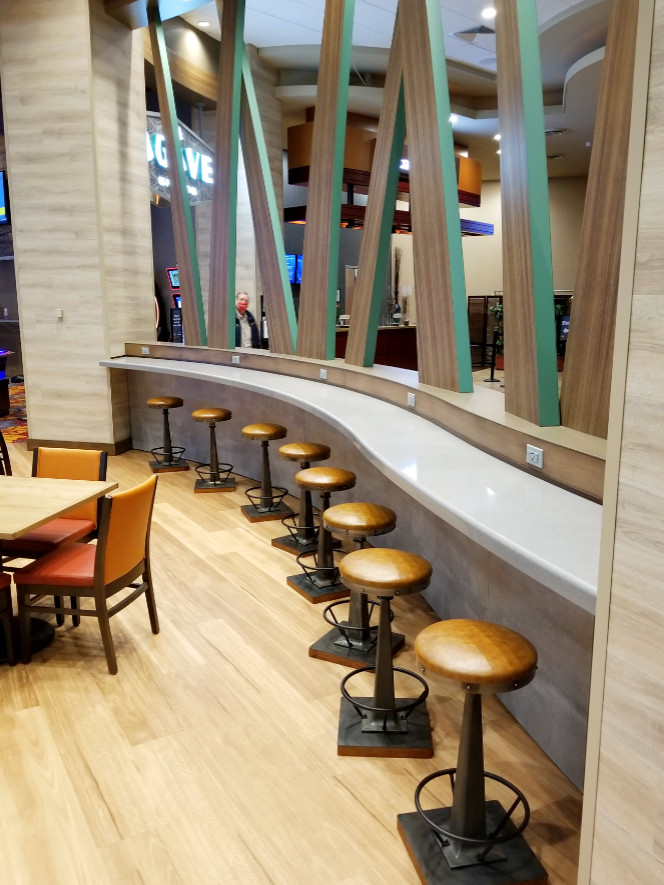 Dining and Seating Bar Area