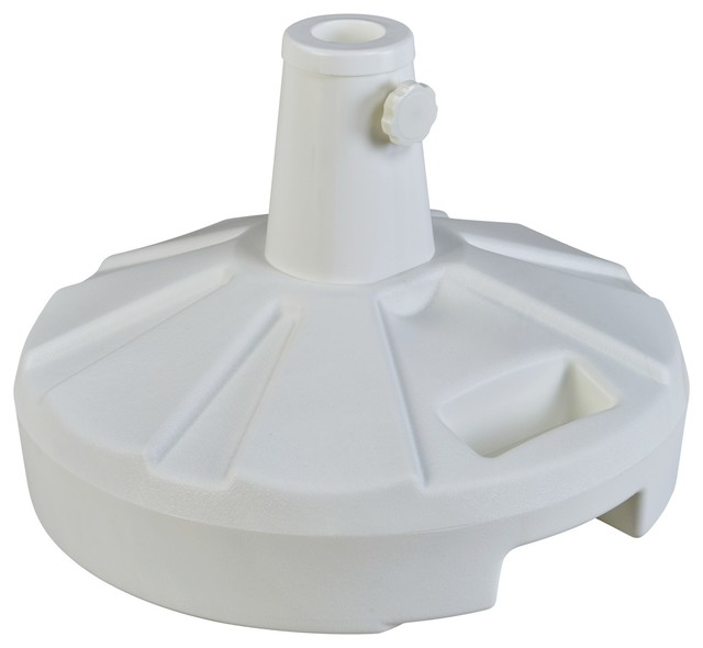 Patio Living Concepts Umbrella Base Stands 00261 Stand In White