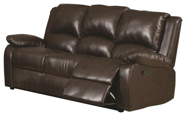 Coaster Boston Casual 3-Seat Reclining Sofa