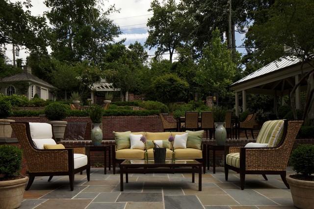 Wicker patio furniture sets mediterranean birmingham for Outdoor furniture birmingham al