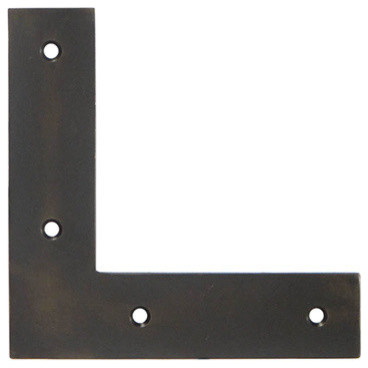 Th 5b Br Flat L Bracket Traditional Hardware By Horton