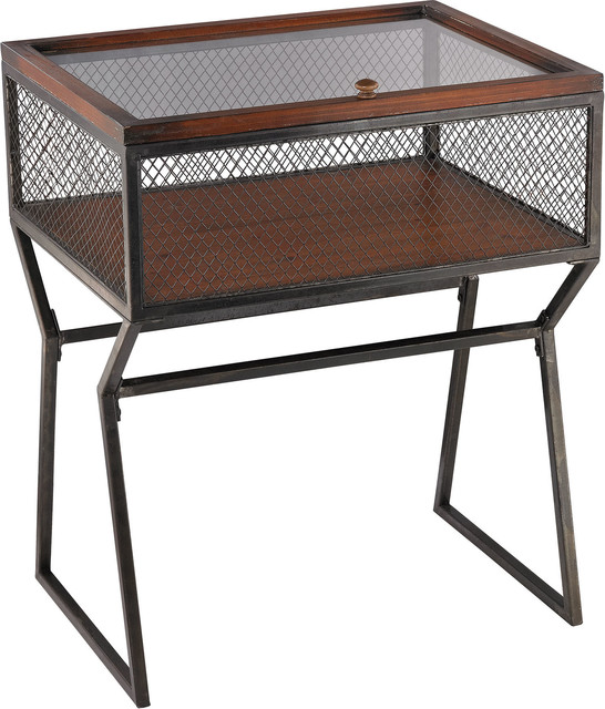 Curio Cabinet - Industrial - China Cabinets And Hutches - by HedgeApple