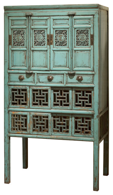 Kitchen cabinet asian console tables by china for Asian console cabinet
