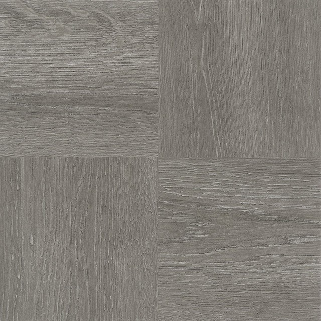 Charcoal Gray Wood 12 X12 Self Adhesive Vinyl Floor Tile 20 Tiles Sq Ft Traditional Flooring By Virventures