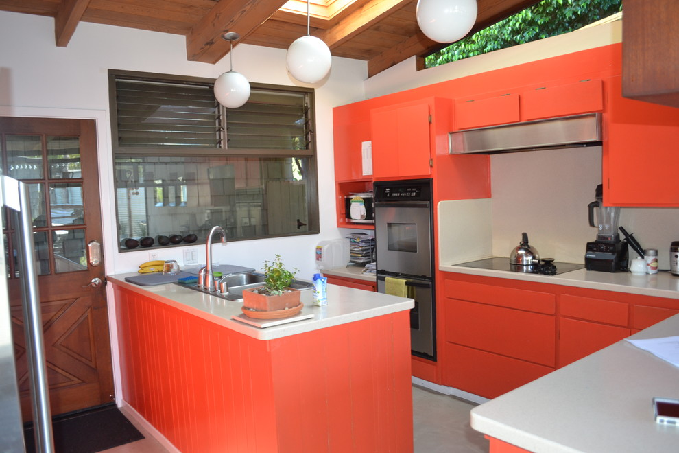 1951 mid-century modern home remodel
