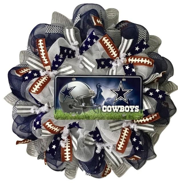 Dallas Cowboys Football Wreath.