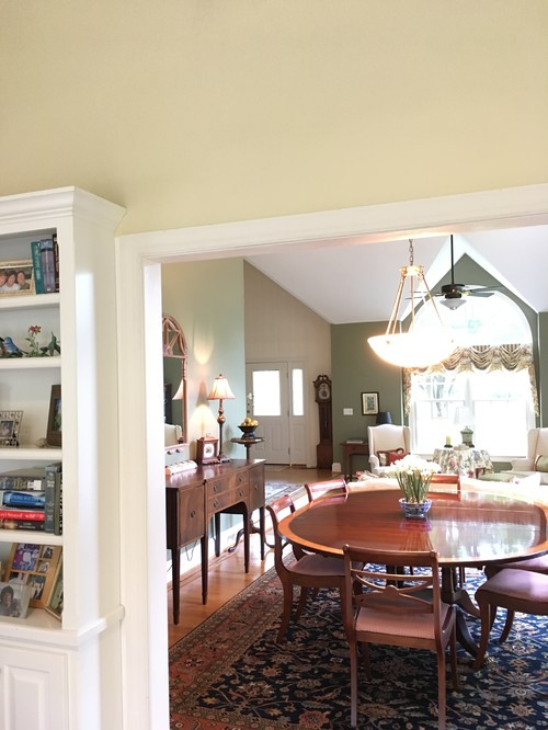 Paint Ceiling And Wall The Same In Family Room What Color