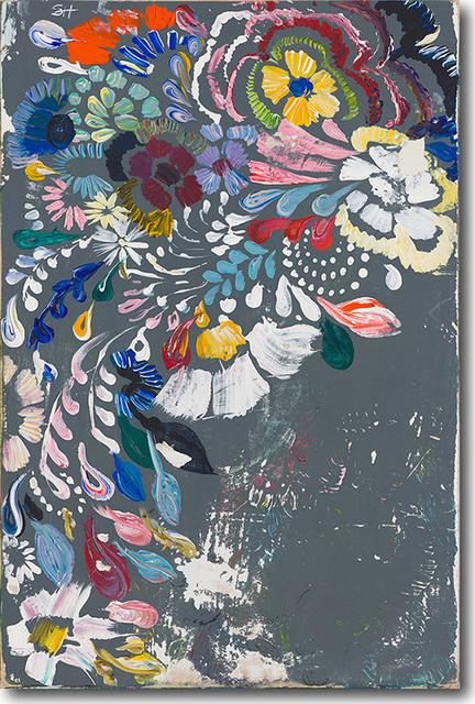 """paynes Gray"" Artwork By Starla Michelle Halfmann, 24""x36""."