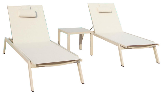 Wondrous Carina 3 Piece Chaise Lounge Set Interior Design Ideas Helimdqseriescom