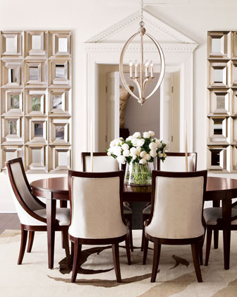 Has Anyone Bought The Allerton Dining Table And Chairs By Horchow - Macys dining room sets