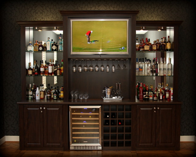 Blog A Custom Designed Billiards Parlour Bar By Jerry Archer Traditional Home Bar San