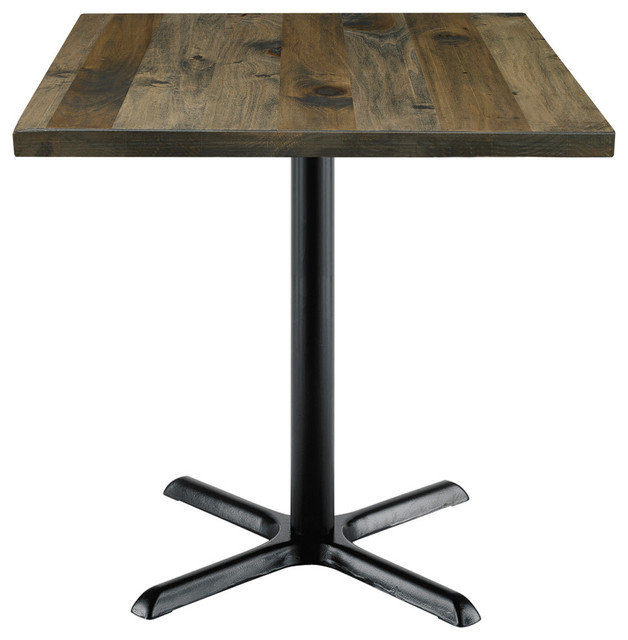 Graydon Square Vintage Wooden Table.