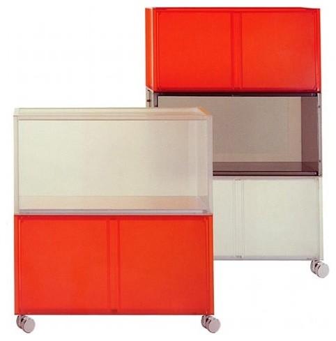 "Kartell | ""One"" Modular Storage with Doors - Modern ..."