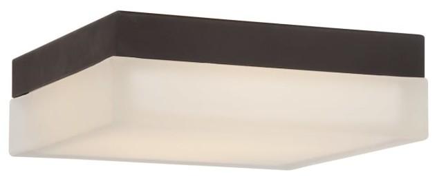 Dice 1-Light Led Flush-Mount Ceiling Fixture, 6.
