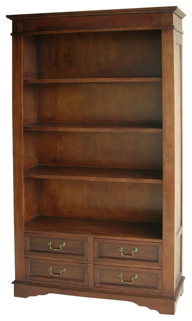 Dannery Bookcase Traditional Bookcases By Wayborn