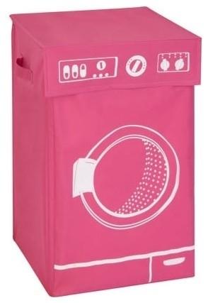 Washing Machine Hamper, Pink