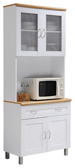 Whitley Kitchen Cabinet, White.