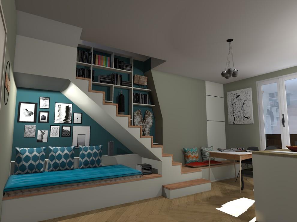 Aménagement de combles et création d'un escalier