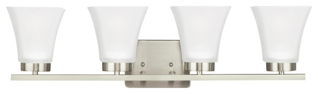 "Sea Gull Lighting 4411604EN Bayfield 4 Light 27-1/2"" Wide LED Bathroom Vanity L"