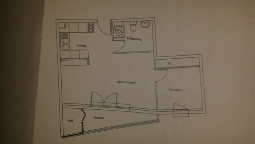 Besoin d 39 aide am nagement 45m2 for Appartement 45m2 design