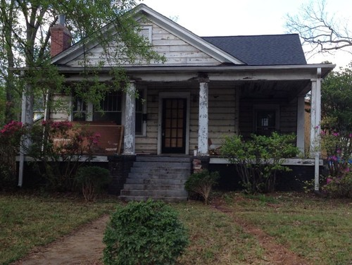 Ashley Avenue Greenville SC BEFORE