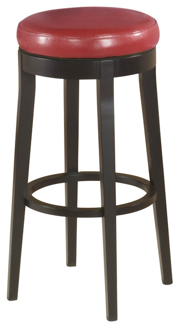 leather backless counter stools armen living mbs 450 26 quot backless swivel barstool 6884