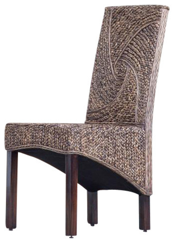 Fabulous Lambada Woven Indoor Dining Chair Creativecarmelina Interior Chair Design Creativecarmelinacom