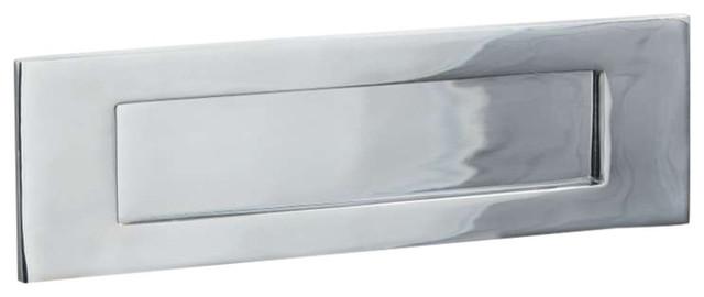Letter Plate, 300mm, Polished Chrome