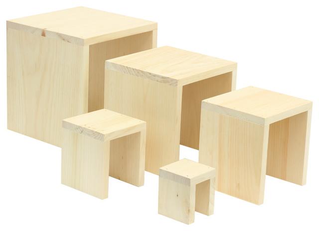 5-Piece Square Risers
