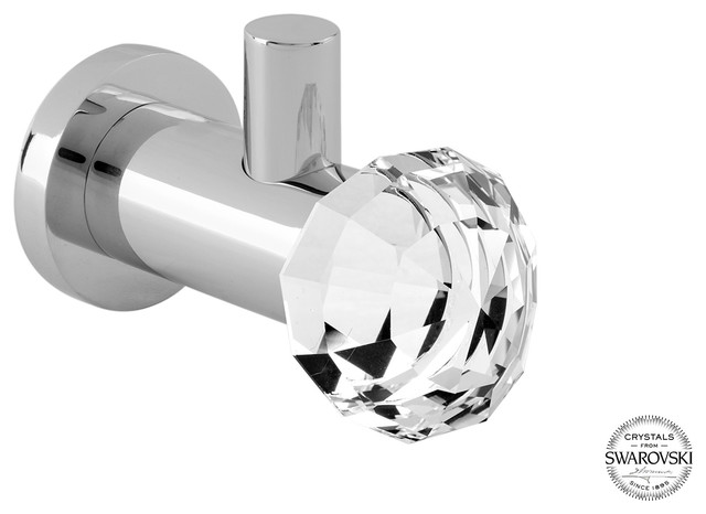 Rock Small Towel Robe Hook Swarovski
