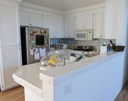 Kitchen Cabinet Repaint with Cabinet Coat