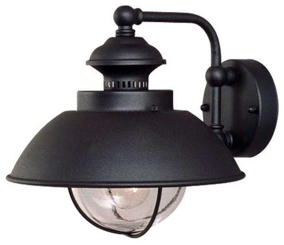 Vaxcel Lighting Ow21501tb Harwich Outdoor Wall Light, Textured Black.