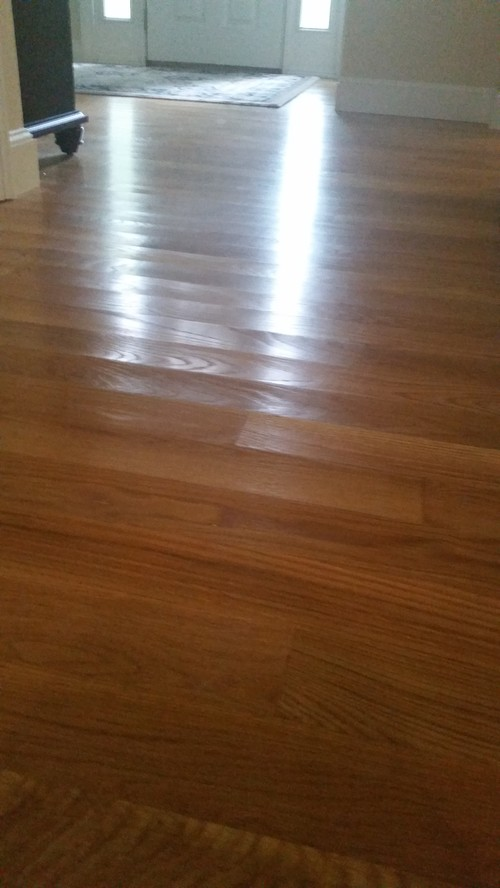 Cupped hardwood floors for Hardwood floors cupping