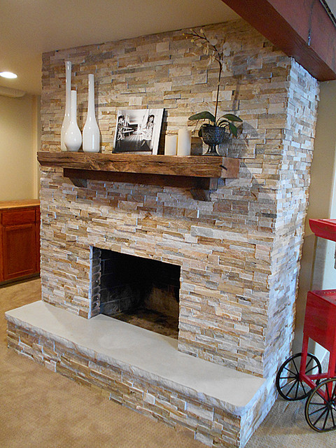 Fireplace Hearth 7 39 With Split Stone Edge Detail Indoor