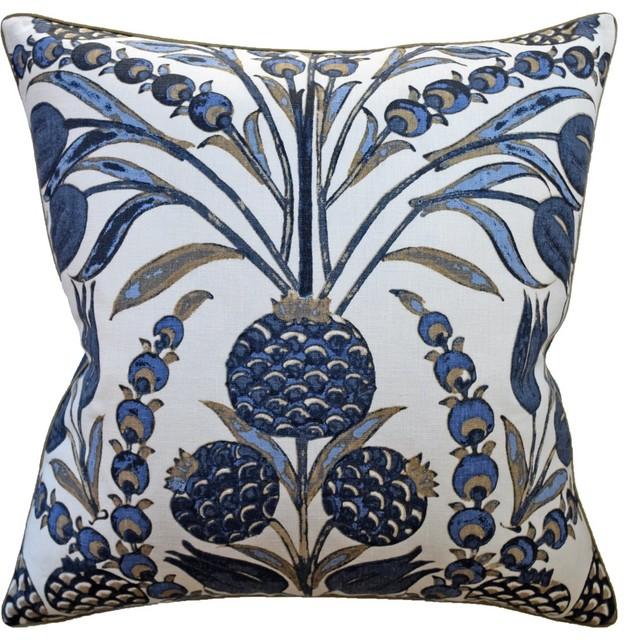 Cornelia Navy Pillow Ryan Studio