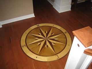 Rose Farm Hardwood Floor Medallions U0026 Inlays   Woodstock, IL, US 60098