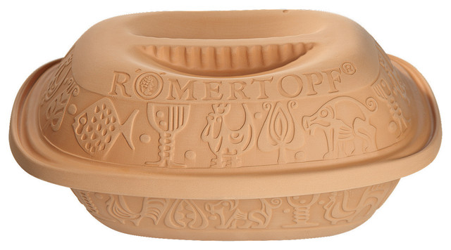 Romertopf Classic Series, Clay Cooker, 3.1-Quart
