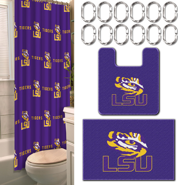 lsu 15 bath set traditional bathroom accessory