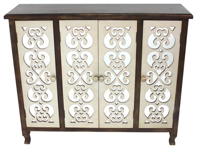 Cloister Wooden Cabinet.
