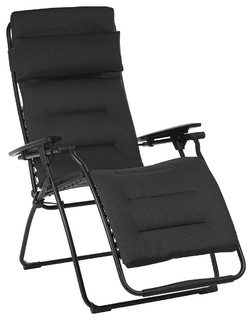 Lafuma Futura Zero Gravity Recliner Contemporary Outdoor Folding Chairs by Lafuma Mobilier
