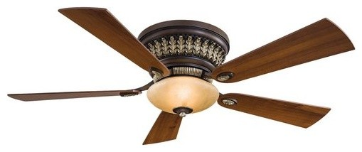 Minkaaire Calais 5 Blade 52 Ceiling Fan - Light, Handheld Remote Control Blades.