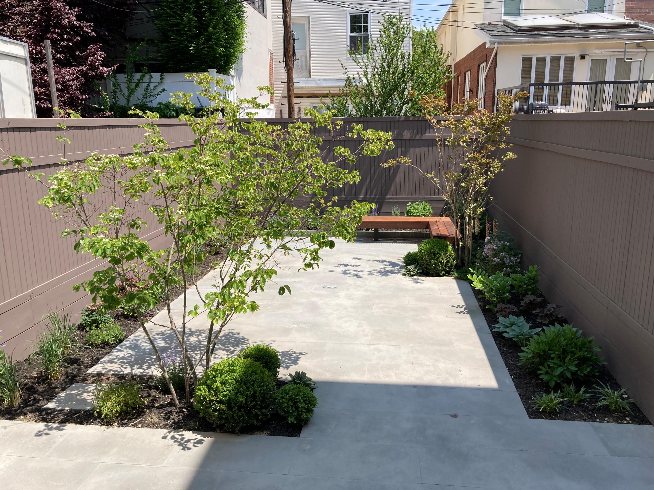 Borough Park Brooklyn Backyard makeover
